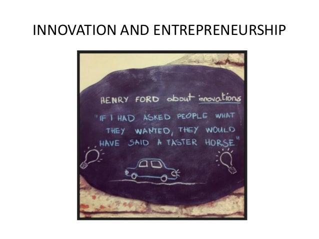 essays on entrepreneurs innovations