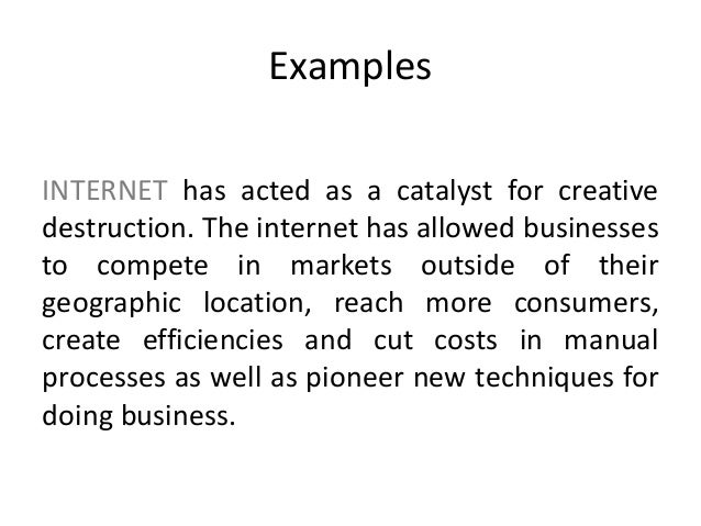 Entrepreneurship Innovation Creativity