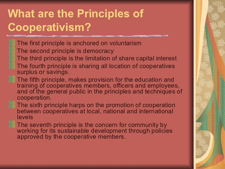 Lectures for Basic Seminar on Cooperative Development Slide 3