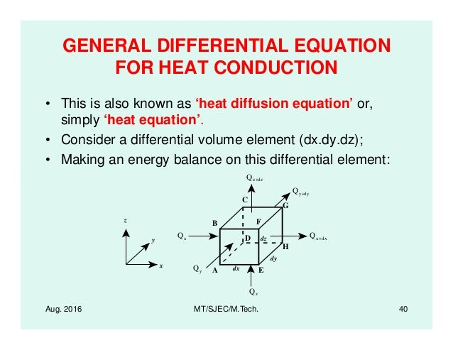 Lectures on Heat Transfer - Introduction - Applications