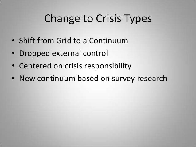 situational crisis communication theory thesis A thesis presented to the faculty of the graduate school this research would draw from the theoretical framework of situational crisis communication theory.
