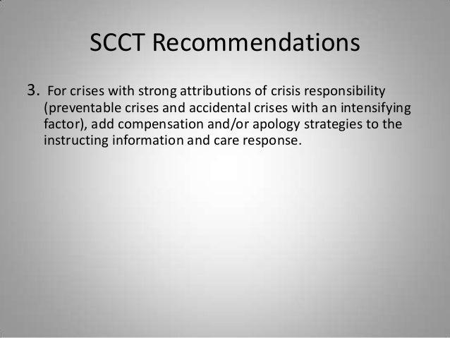 situational crisis communication theory pdf