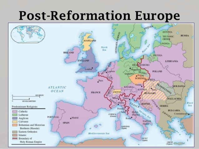 Post-Reformation Europe