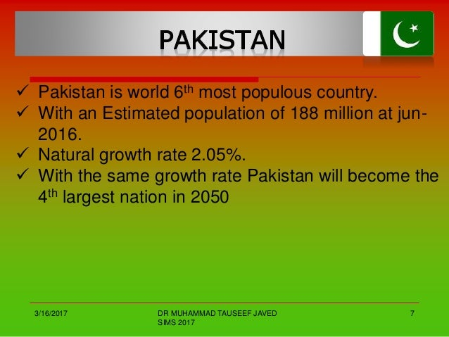 demographics of pakistan Demographics of pakistan, data of fao, year 2005  number of inhabitants in   pakistan has an estimated population of over 166 million inhabitants in 2006.