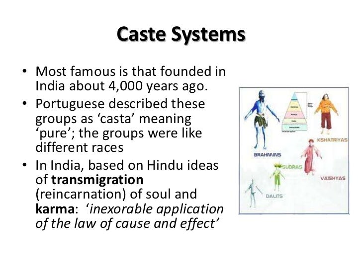 caste system definition sociology