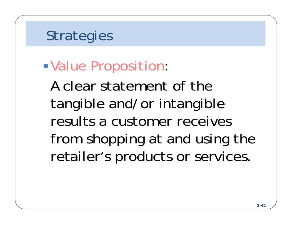 Value proposition of Tesco (Marketing Management)