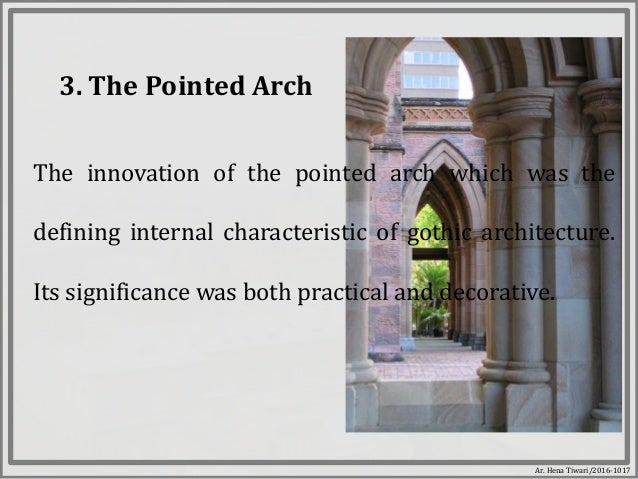 Lecture X Gothic Architecture
