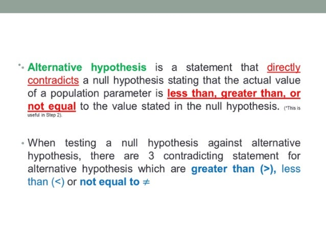 five step hypothesis test Now that we understand the general idea of how statistical hypothesis testing works, let's go back to each of the steps and delve slightly deeper, getting more.