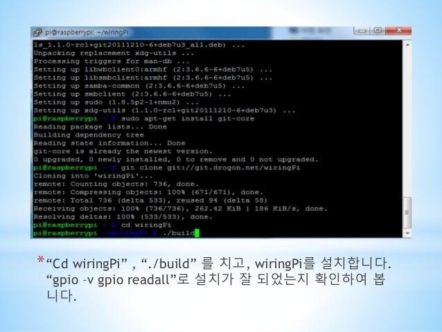 led  ud68c ub85c uad6c uc131 Using Raspberry Pi Home Automation WiringPi PWM