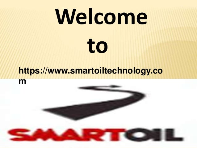 Welcome to https://www.smartoiltechnology.co m