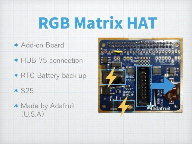 Adafruit Rgb Matrix Hat