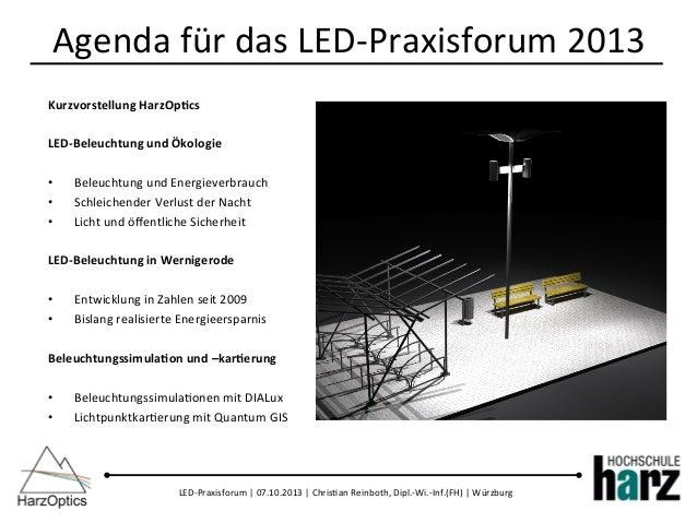 LEDs in der Außenbeleuchtung Slide 2