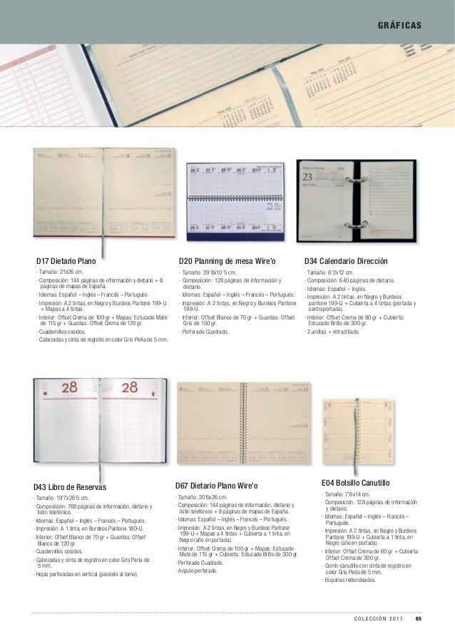GRÁFICAS D20 Planning de mesa Wire'o · Tamaño: 29'8x10'5 cm. · Composición: 128 páginas de información y dietario. · Idiom...