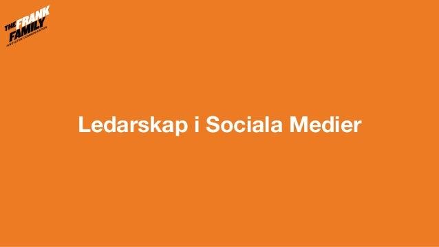 Ledarskap i Sociala Medier