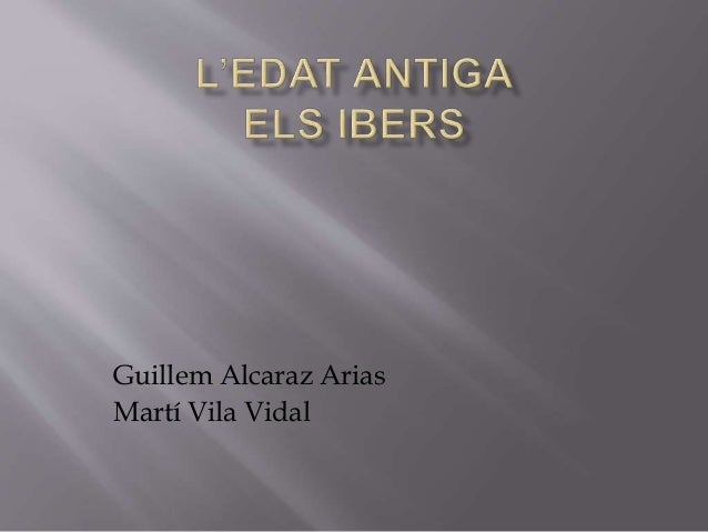 Guillem Alcaraz Arias Martí Vila Vidal