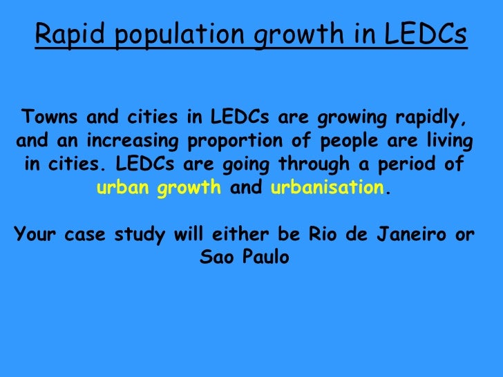 Ledc Cities Rapid Growth 1200827 on learning from favelas 2