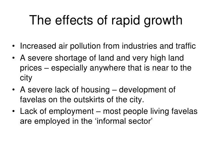 Ledc Cities Rapid Growth