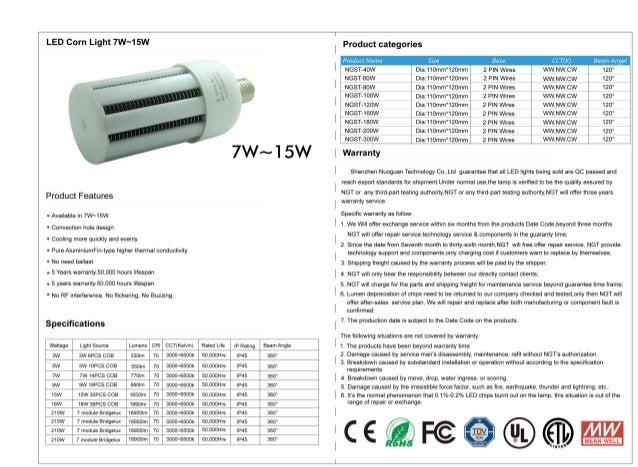 "LED C0?"" Light 7W""15W Product categories  P/ UiillifNi'll71P ,  . : ' Beam A/1(,7i: 'l     NGST-40W Dia:110mm""120mm 2 PIN ..."