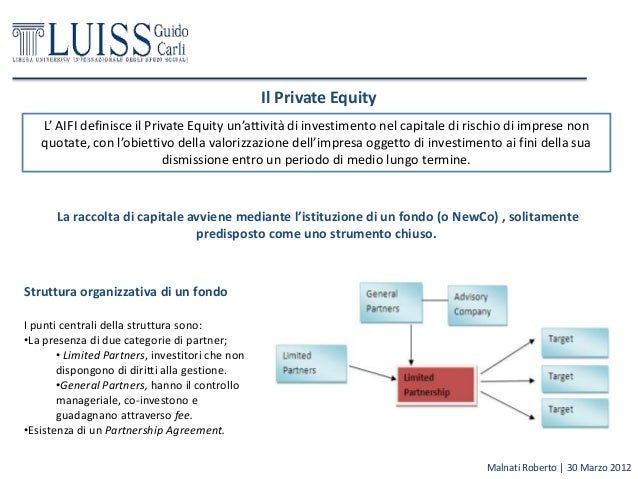 Fondo private equity