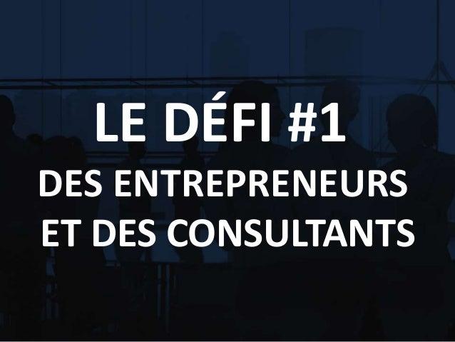Joseph GonzalezConfidentiel StartUp2Grow LE DÉFI #1 DES ENTREPRENEURS ET DES CONSULTANTS