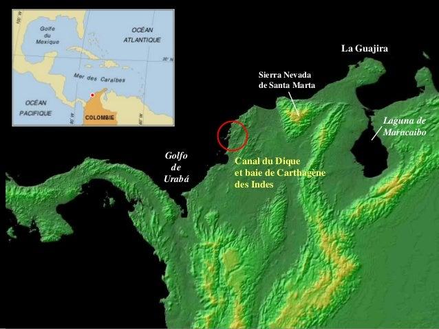 Le delta du canal du Dique (baie de Carthagène des Indes, Colombie). Modélisation géomorphologique et sédimentologique Slide 2