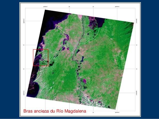 Le delta du canal du Dique (baie de Carthagène des Indes, Colombie). Modélisation géomorphologique et sédimentologique Slide 3