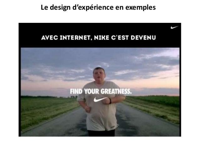 Le design d'expérience en exemples