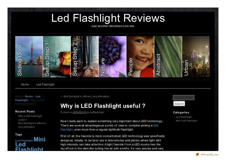 Led Flashlight Reviews           Just another dinodirect.com site     Home           Led FlashlightHo me > Ho m e > Le d  ...