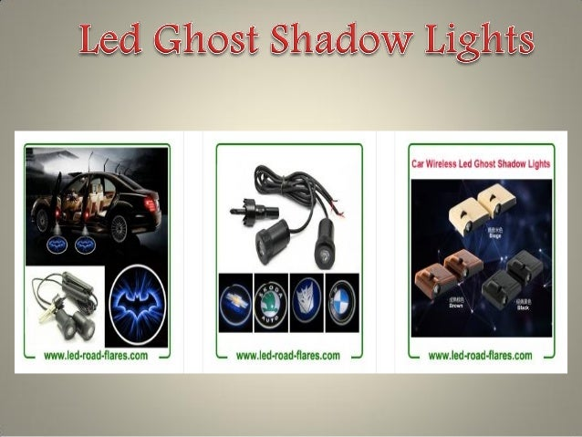 Led Ghost Shadow Lights