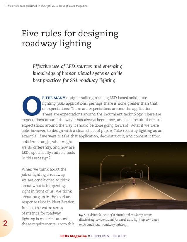 Leds Magazine Led Technology Solid State Lighting And ...