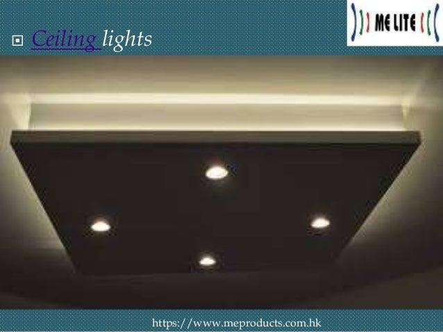 LED Light - The Lighting Trends in 2019 interior design