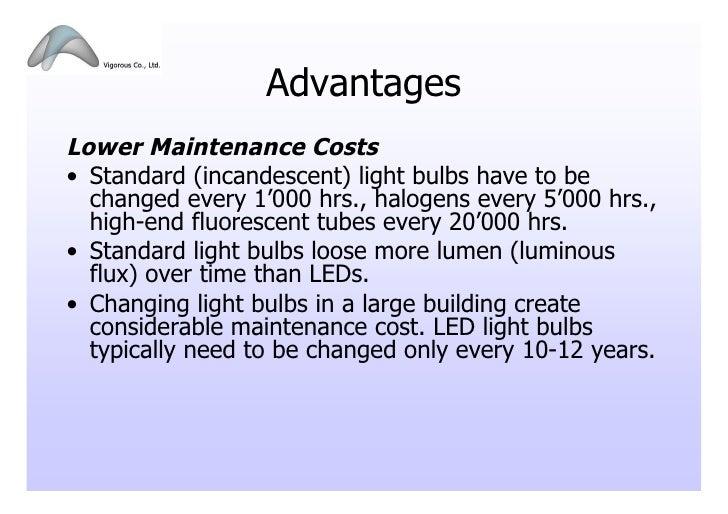 Advantages ...  sc 1 st  SlideShare & LED Lighting Presentation_102009 azcodes.com