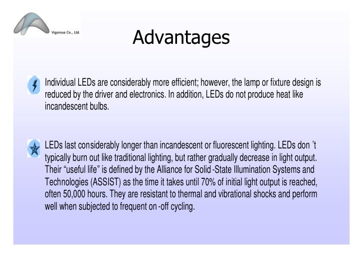 Advantages Inidual ...  sc 1 st  SlideShare & LED Lighting Presentation_102009 azcodes.com