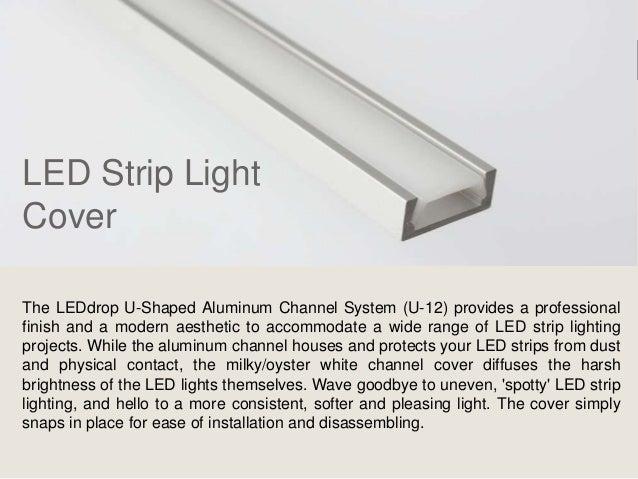 Led light strip diffuser 4 led strip light aloadofball Images