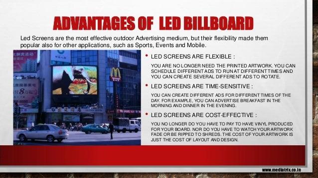 led bill board