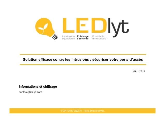 Luminosité Eclairage         Domicile &                             équivalente économe          Entreprises   Solution ef...