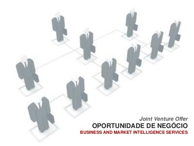 Joint Venture Offer         PARCERIA INDUSTRIAL E COMERCIAL         BUSINESS AND MARKET INTELLIGENCE SERVICES             ...