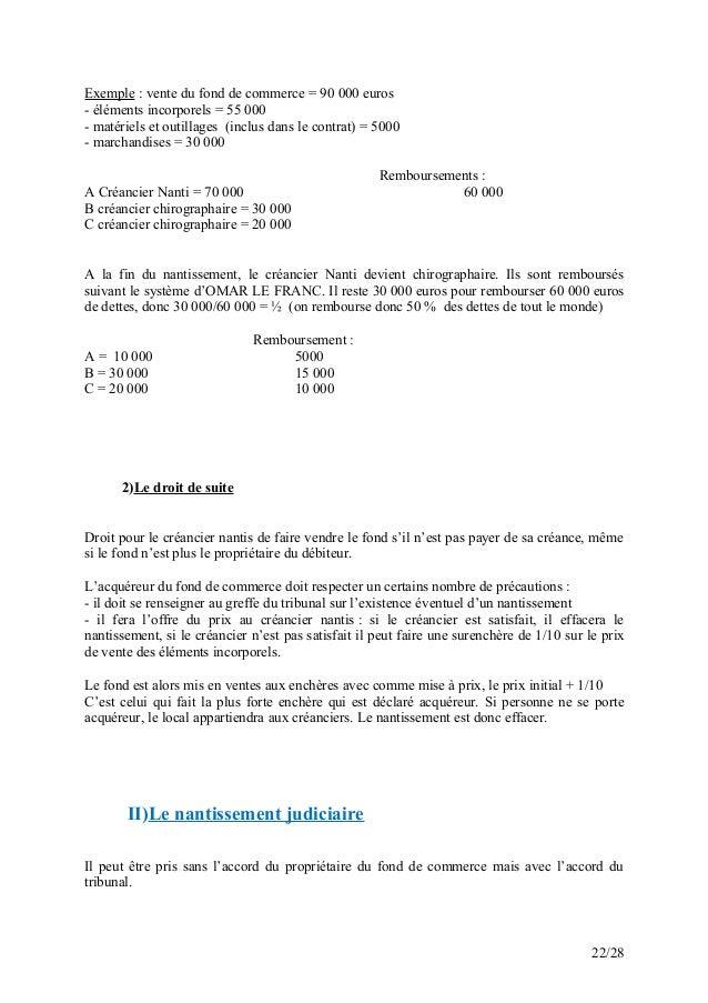 Cours le droit commercial marocain - Droit de vente immobilier ...