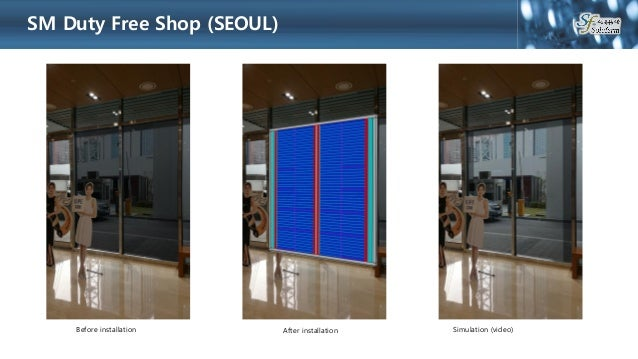 Transparent led film display solution