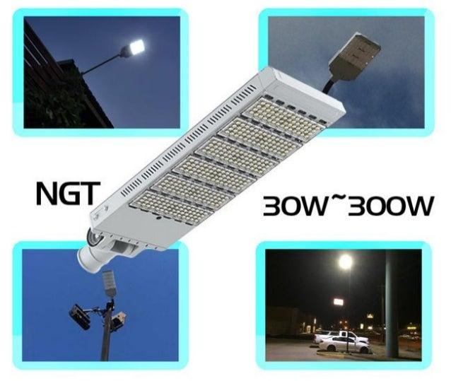 Led street light promotional image