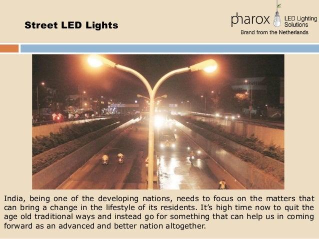 sc 1 st  SlideShare & LED Street Lights in India