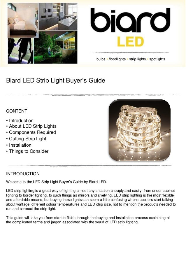 Led strip light buyers guide aloadofball Image collections
