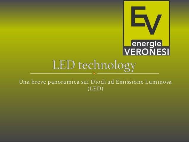 Una breve panoramica sui Diodi ad Emissione Luminosa (LED)