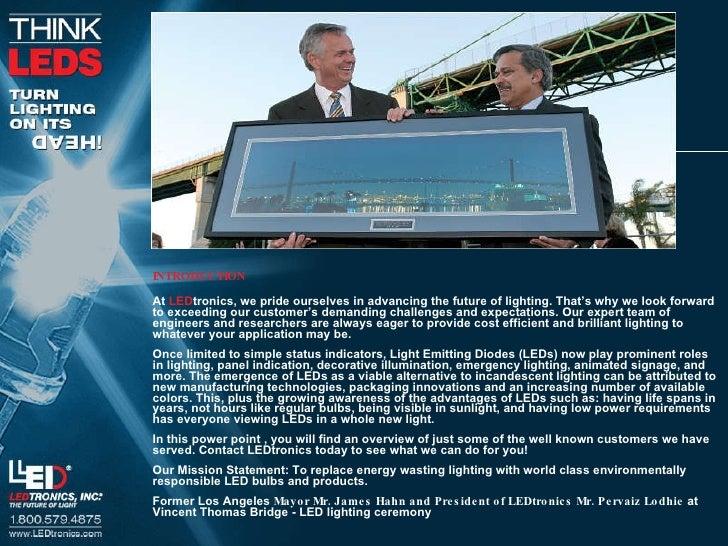 Le Dtronics General Overview 2010 Slide 2