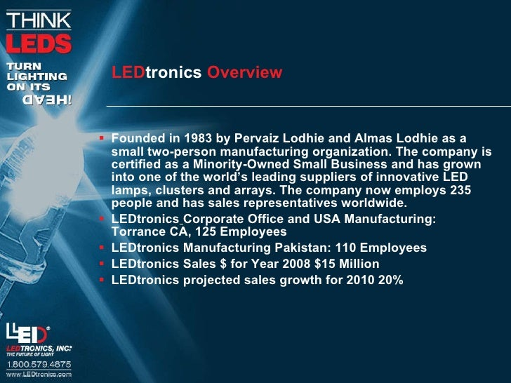 Le Dtronics General Overview 2010 Slide 3