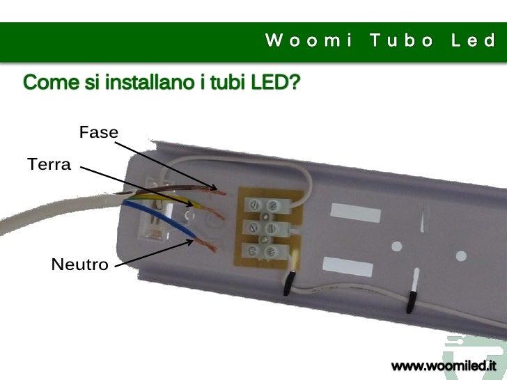 Schema Elettrico Per Neon A Led : Tubo led istruzioni