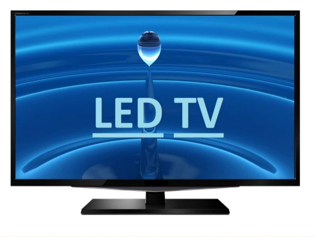 Led tv electronics