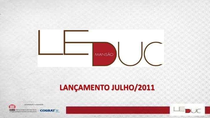 LANÇAMENTO JULHO/2011