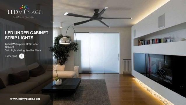 Led Under Cabinet Strip Lights Advantages Features