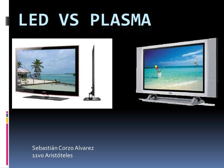 led vs plasma. Black Bedroom Furniture Sets. Home Design Ideas
